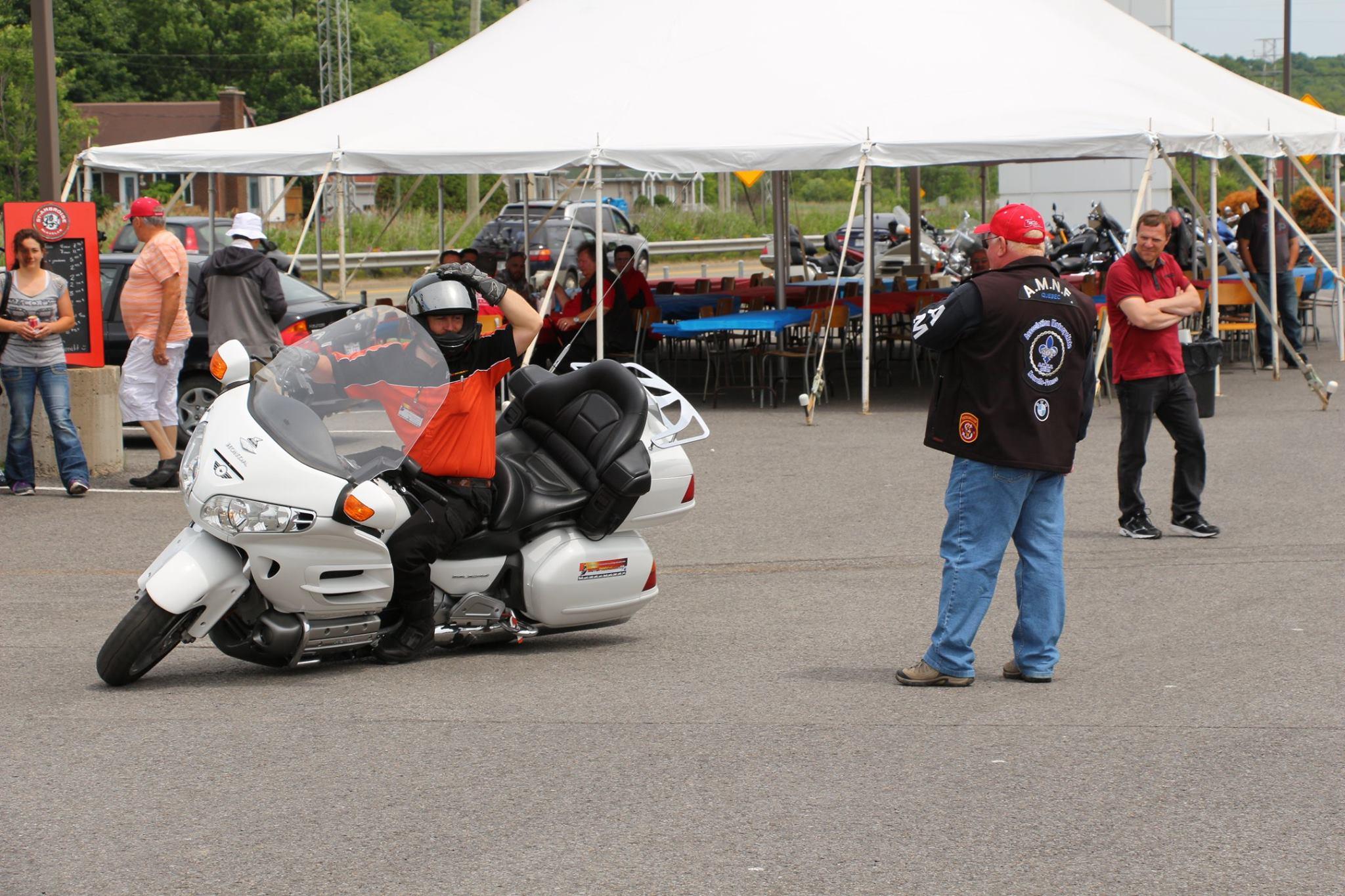 Conduire moto quebec