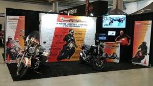 MotoPrécision au Salon de la moto de Montréal 2016