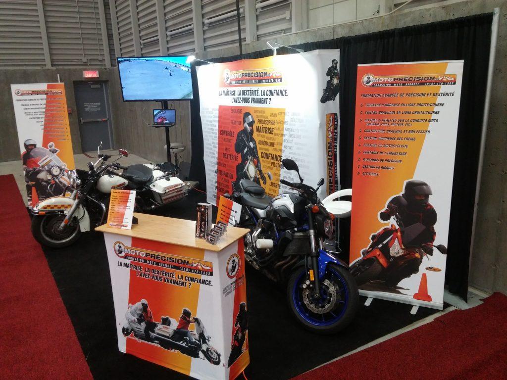 Salon de la moto de Québec 2017